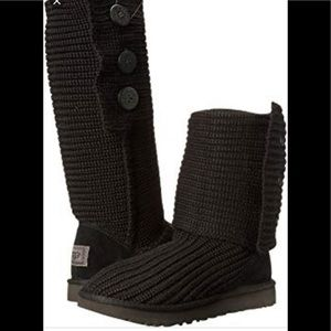 UGG brown cardy boots